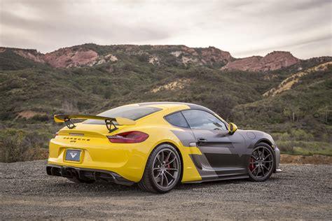 Cayman Porsche Tuning by Vorsteiner Tuning Porsche Cayman Gt4 Oto Kokpit
