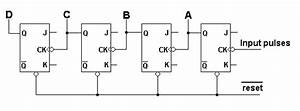 Asynchronous Up Counters Tutorial  U0026 Circuits