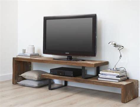 tv meubel hout tv meubel teak hout de woonhoek