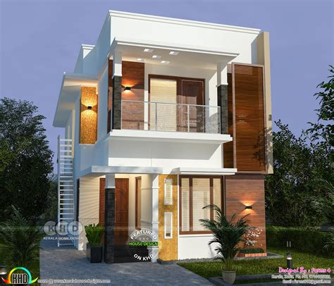 lakhs cost estimated  bedroom home kerala home