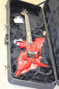 Esp Ltd Devil Girl Electric Guitar Rare Original Prototype