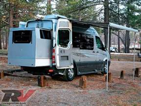 Class B Motorhomes with Slide Out Van