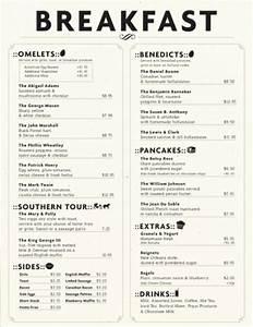 Art of the menu - Wat aten zij?