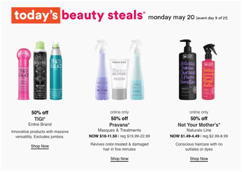 50% Off Pravana Hair Products, Not Your Mother's Naturals