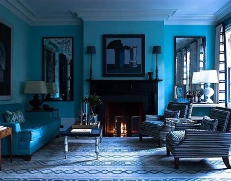 Monochromatic Blue Living Room monochromatic rooms this look furniture clue