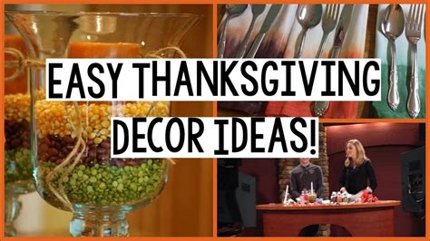 thanksgiving crafts easy thanksgiving decor ideas youtube