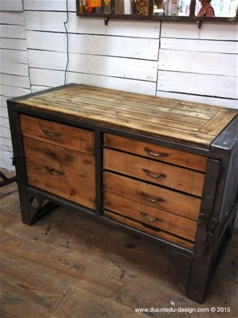 bureau industriel vintage 226 best mobilier images on furniture