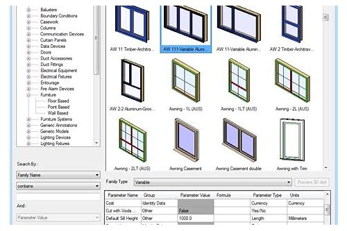 Windows family revit free download :: taverdeton