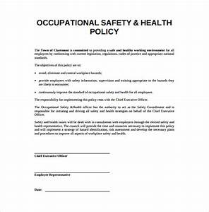 13 health and safety plan templates free sample for Workplace safety program template