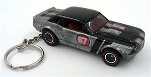 67 Ford Mustang GT Coupe Silver and Black Key Chain Ring Fob Keychain | eBay