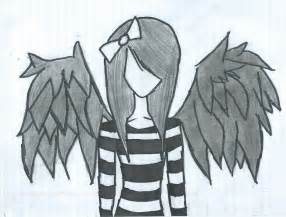 Dark Angel Drawings Easy