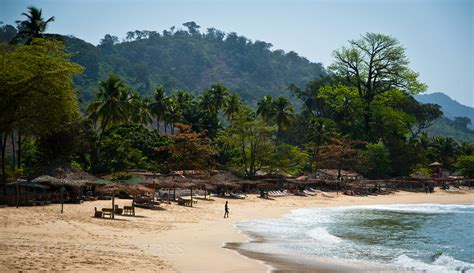 The Paradise | The beach in front of the Environmental ...