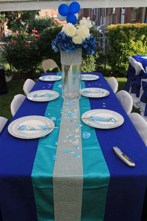 royal blue and silver bathroom decor 17 best images about baby shower ideas backyard event on