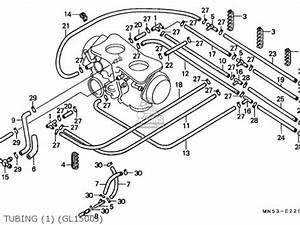 carburetor parts for a 1988 honda goldwing 1500 With honda goldwing gl1500 starting system circuit