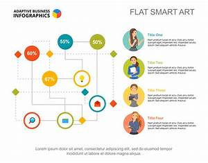 Labyrinth Flowchart Infographic  Editable Template