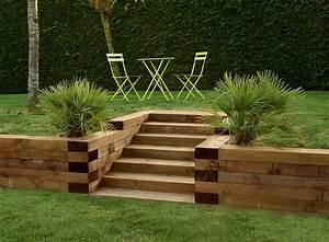 les 25 meilleures idees de la categorie amenagements de With superb amenager jardin en pente 9 amenagement terrasse et jardin photo meilleures images d