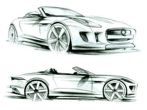jaguar  type design sketches car body design