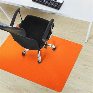 Tapis protection parquet 75x120cm orange sol dur for Tapis protection parquet