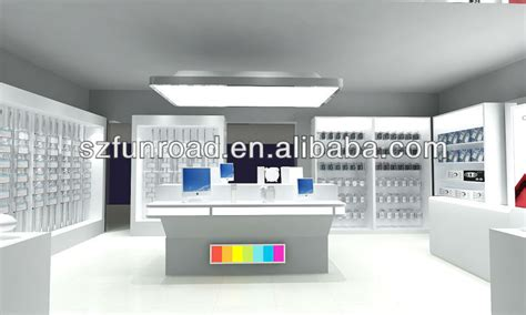 cell phone shop multimedia phone store display kiosk for mobile phone
