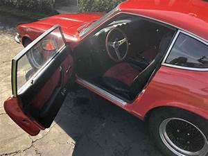 1974 Datsun 260z Sportscar Red Rwd Manual Black For Sale