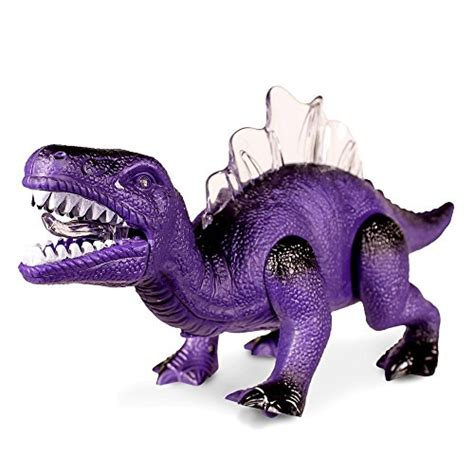 light up dinosaur led light up and walking realistic dinosaur with sound