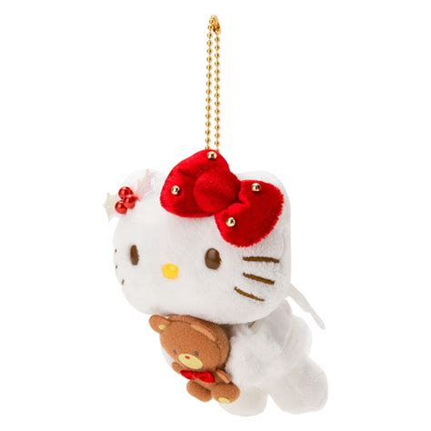 I'm sure i'm not the only one who had a ~system~ for eating animal if i'm not tonging out fresh blocks of tofu at my local japanese grocery store, i'm buying this bulk pack. Sanrio Hello Kitty Plush Mascot Holder Keychain Angel Christmas Japan | eBay