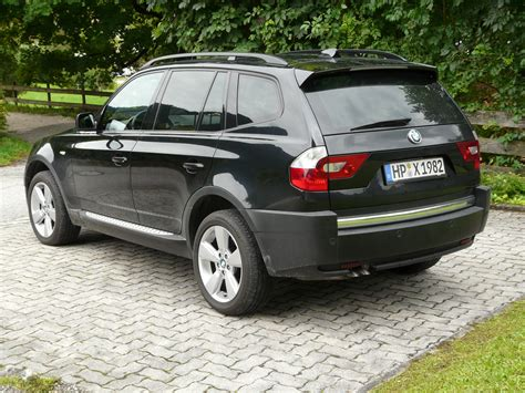 Bmw X3 3.0d 2003 Technical Specifications