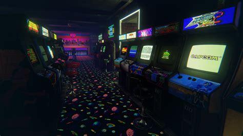 L'arcade Home Interiors : 'newretroarcade' Is A Brilliantly Detailed 80's Arcade