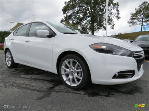 Bright White 2013 Dodge Dart Rallye Exterior Photo