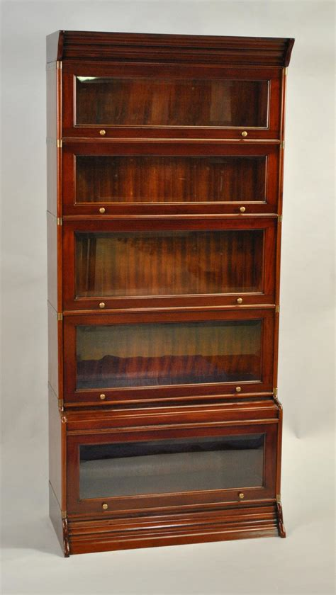 Reproduction Bookcase by Reproduction Globe Wernicke Stacking Barrister Bookcase