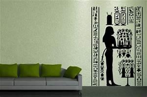 Wandtattoo Auf Rauputz : wandtattoo gyptisches fresco kaufen bei ~ Michelbontemps.com Haus und Dekorationen