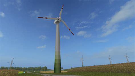 with the wind ls wind turbine prefab v 1 0 fs 2017 farming simulator