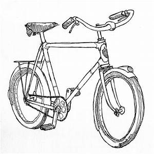 Bicycle Technical Drawing At Getdrawings