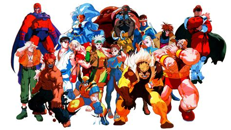 2 Marvel Super Heroes Vs Street Fighter Hd Wallpapers