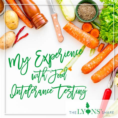 My Experience With Food Intolerance Testing