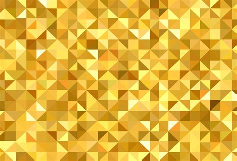 abstract golden triangle geometric pattern