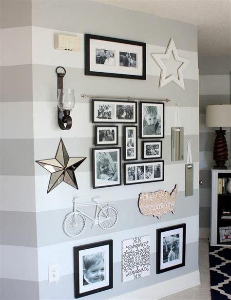 deko für schlafzimmer selber machen fotos an die wand ideen
