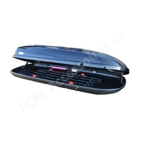 coffre de toit 650 litres grande capacit 233 travel noir pole accessoires