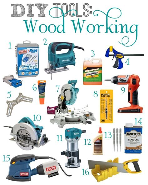 basic tools required  woodworking cut