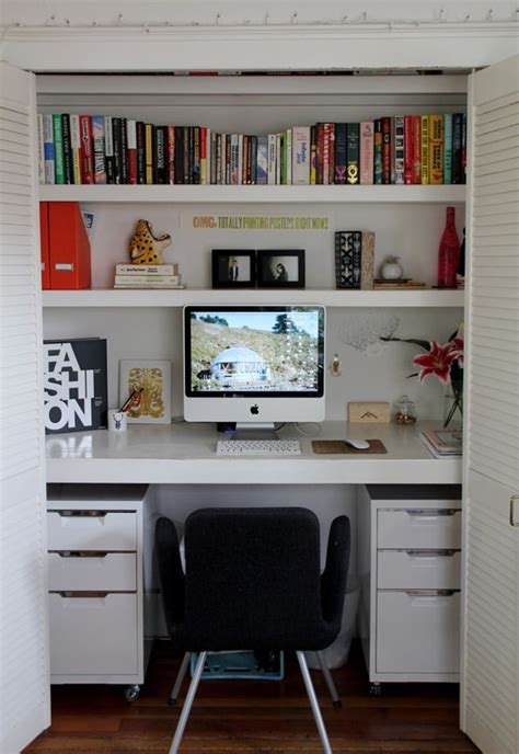 best 25 closet turned office ideas only on