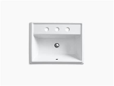 K-| Tresham Rectangular Drop-in Sink With-inch