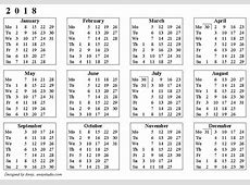 Kalendari 2018 2 2019 2018 Calendar Printable with