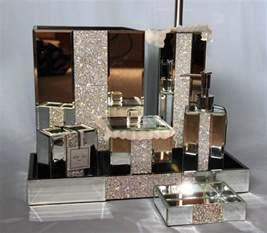 boutique bathroom ideas accessories rhinestone bathroom mirror