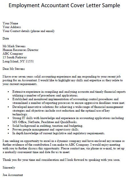 12490 application letter for employment as an accountant accounting cover letter slim image