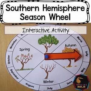 Southern Hemisphere Seasonal Wheel   Interactive activities