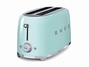 4 Schlitz Toaster : smeg tsf02pgeu 4 scheiben toaster pastellgr n ~ Michelbontemps.com Haus und Dekorationen