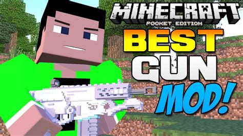 0111 Best Gun Mod In Mcpe Guncraft Mod