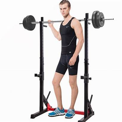 Rack Barbell Squat Weight Bench Lifting Stand