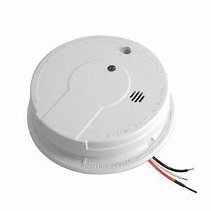 Kidde I12040 Hardwire Smoke Alarm With Hush Feature