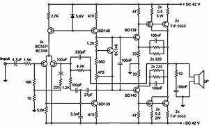 300w Subwoofer Power Amplifier